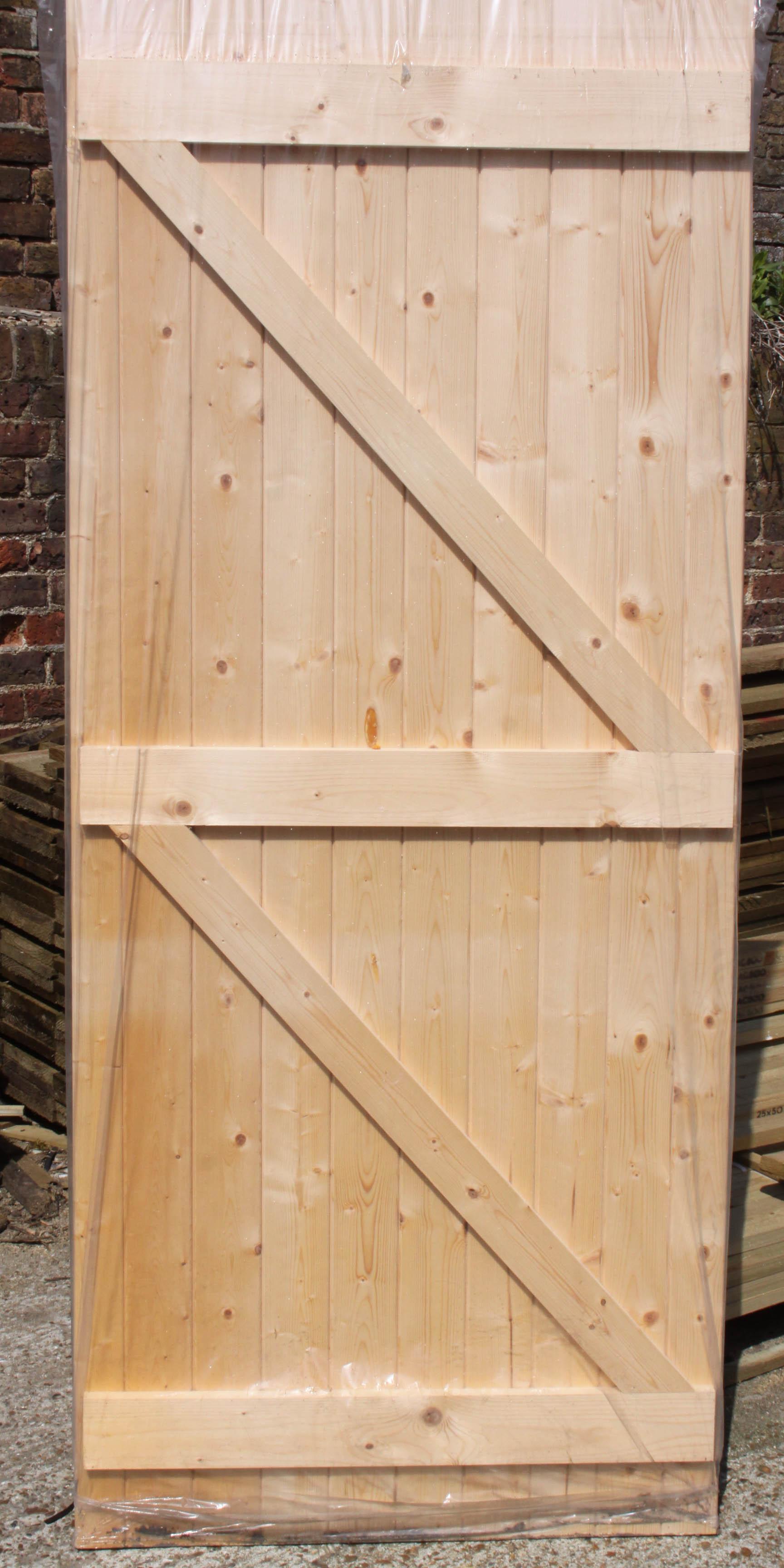 Ledge and Braced Pine Exturnal Door & Timber Requirements Seaford Ltd Ledge and Braced Pine External Door