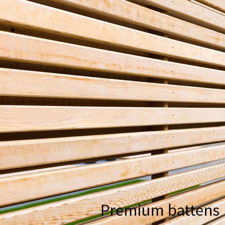 SLATTED SCREEN FENCING TIMBER